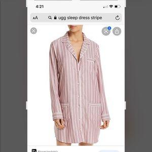 UGG Laura Striped Sleep Dress